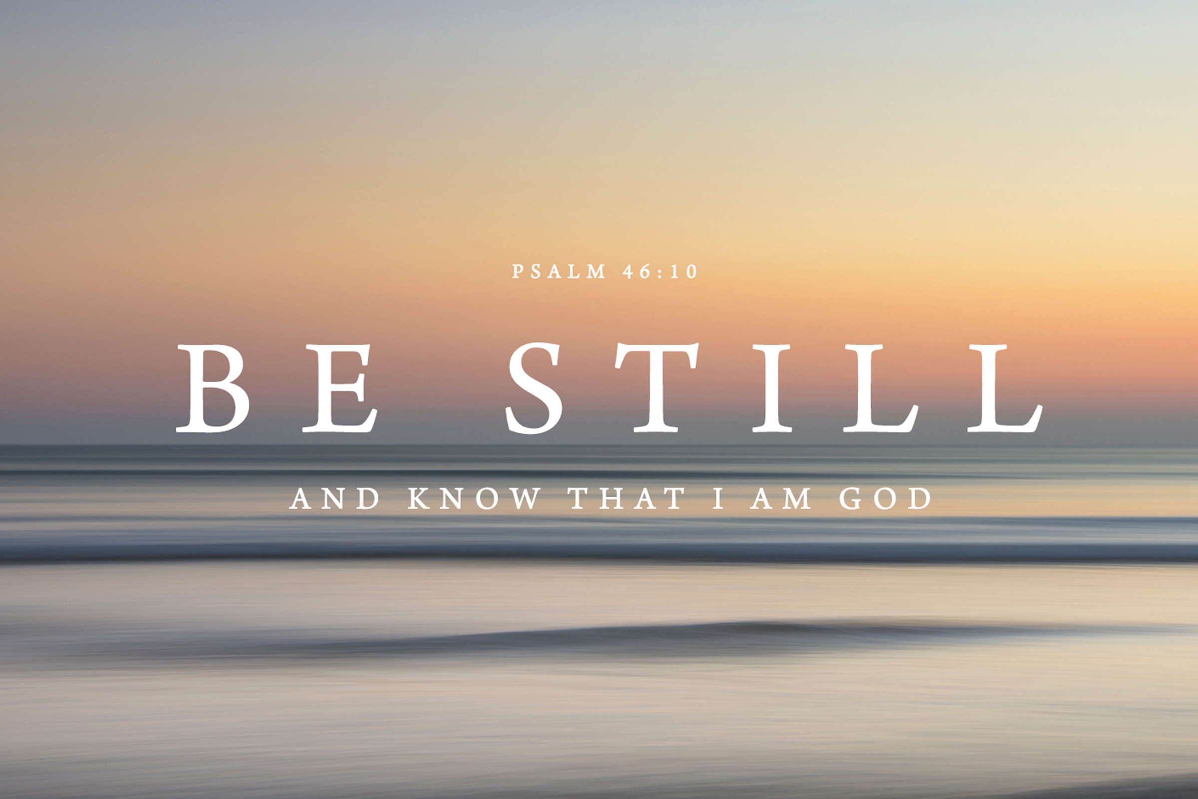 Psalms 46:10 Be Still and Know that I am God Moses OMoviye Faith Miracle Centre Jesus Loves Me